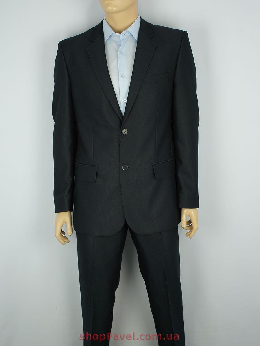 Чоловічий костюм Legenda Class 5763 в чорному кольорі