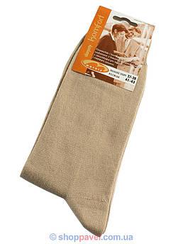 Чоловічі шкарпетки Markiz 018 бежевого кольору