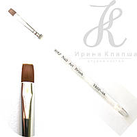 КистьYKSP-08 для геля (прозрачная ручка)