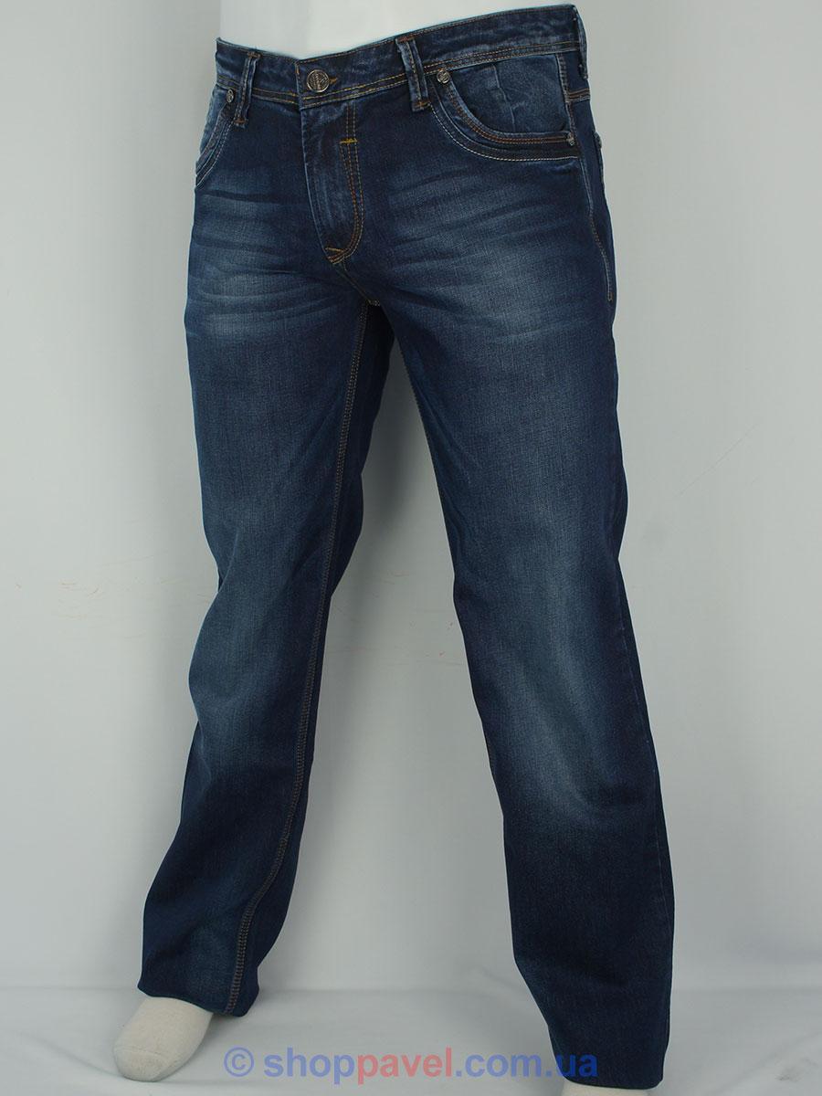 Темно-сині чоловічі джинси X-Foot 140-1790