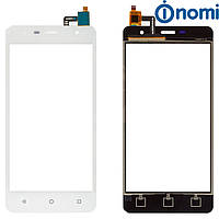 Touchscreen (сенсорный экран) для Nomi i5010 Evo M, белый, оригинал