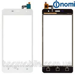 Сенсорный экран для Nomi Evo M i5010, белый, оригинал