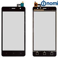 Touchscreen (сенсорный экран) для Nomi i5010 Evo M, черный, оригинал