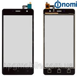 Сенсорный экран для Nomi Evo M i5010, черный, оригинал