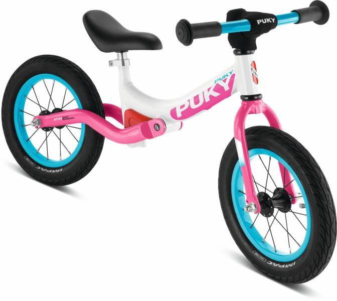 Беговел велобег детский PUKY LR Ride Германия (белый/розовый)