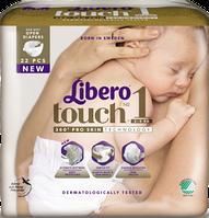 Подгузники детские Libero Touch 1 2-5 кг 22 шт