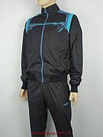Чоловічий спортивний костюм Maraton М-11-495U H чорного кольору