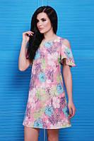 Летнее женское платье Lime FashionUp 42-48  размеры