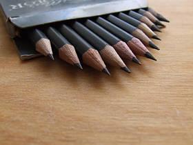 Карандаши простые (чернографитные)