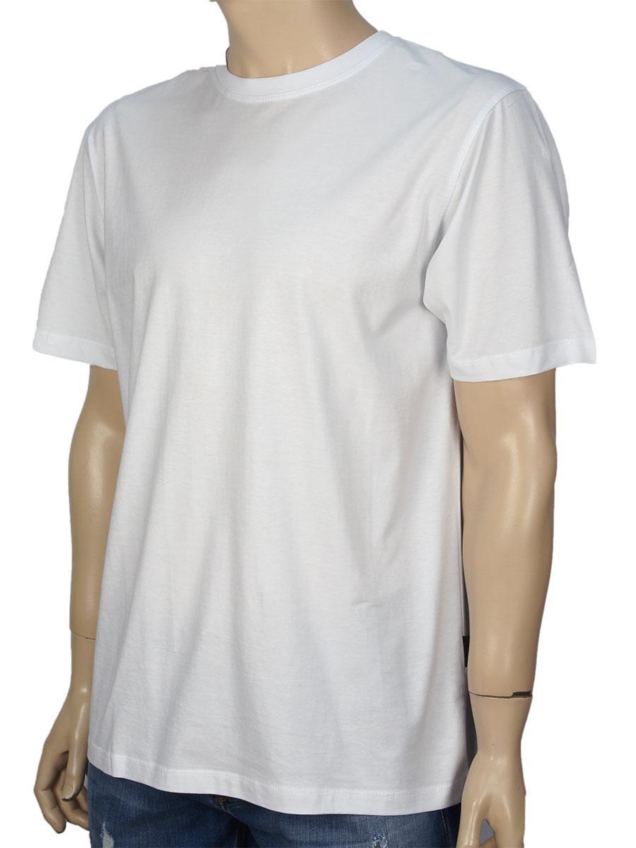 Чоловіча футболка Laperon PRN-4010 білого кольору