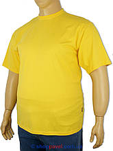 Чоловіча футболка Laperon PRN-4110 B жовтого кольору