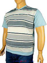 Чоловіча футболка Laperon 0230 B великих розмірів