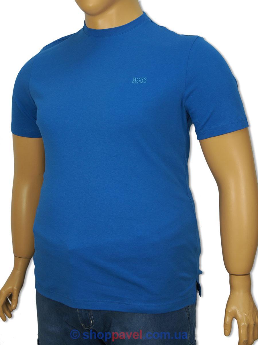 Чоловіча футболка ER-018 синього кольору