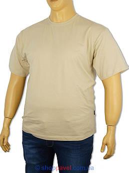 Чоловіча футболка Laperon PRN-4110 B бежевого кольору