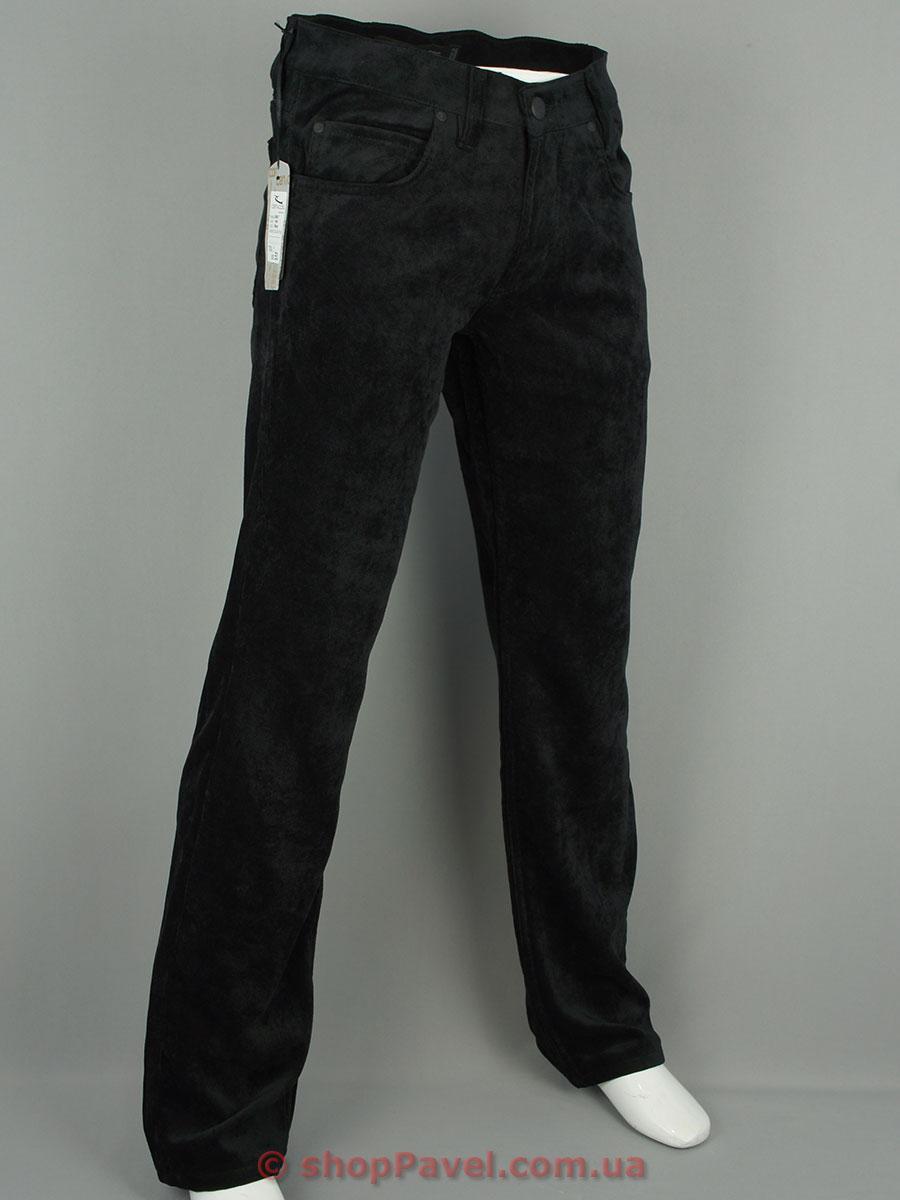 Чоловічі вельветові джинси Cen-cor MD-608 чорного кольору