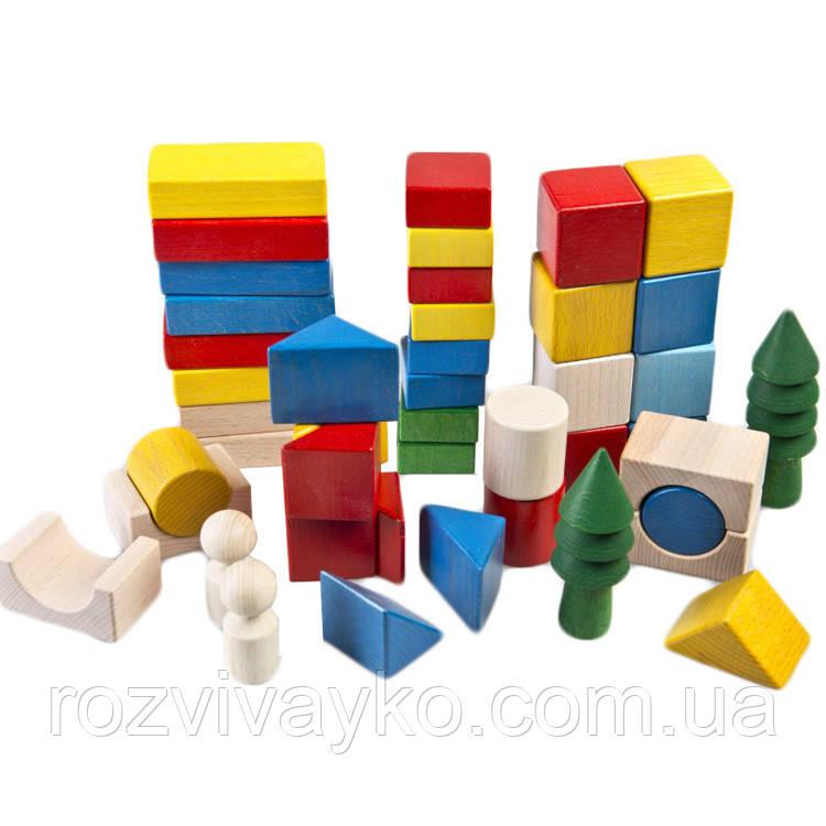 Деревянная игрушка Город, в коробке, ТАТО
