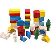 Деревянная игрушка Город, в коробке, ТАТО, фото 1