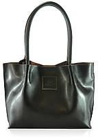Женская кожаная сумка 827 шоколадная