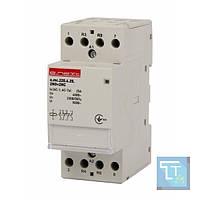 Модульный контактор e.mc.220.4.25.2NO+2NC, 4р, 25А, 2NO+2NC, 220В, E.Next