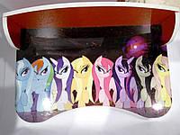 """Парта серии """"Little Pony"""", красная, в кор. 62*42*6см, произ-во Украина"""
