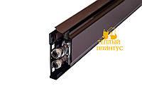 Конвектор Тёплый Плинтус (водяной, резьба, коричневый), 1м КПНК 16/100П (р)
