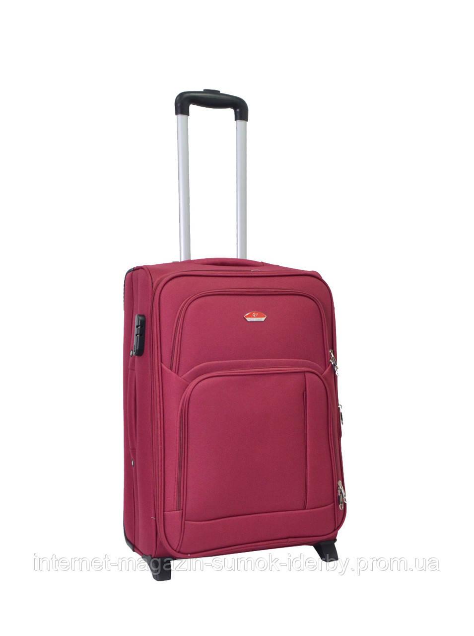 Чемодан Suitcase средний 11404-24 бордовый