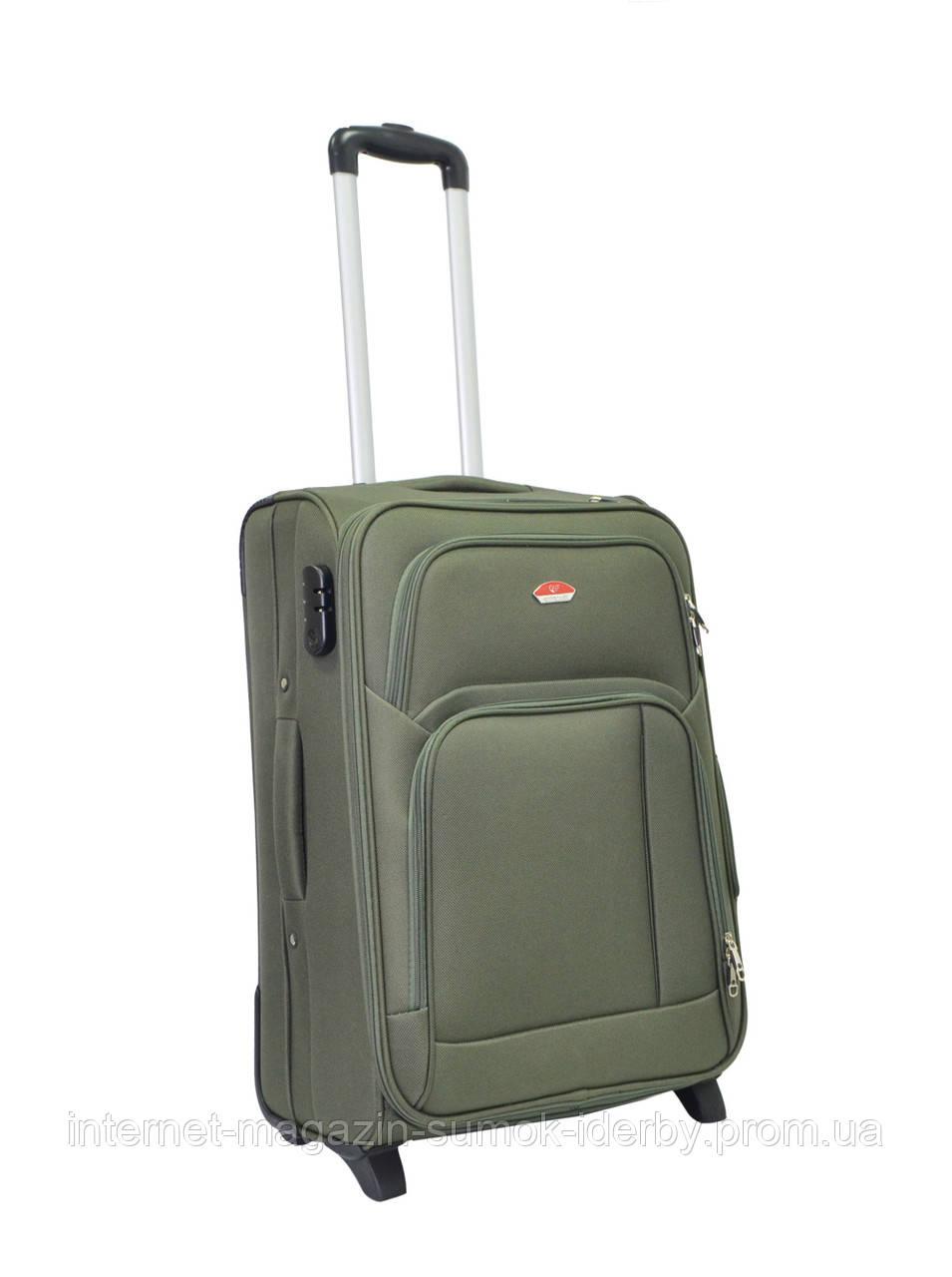 Чемодан Suitcase средний 11404-24 хаки