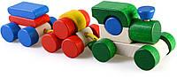 Деревянная игрушка Поезд в коробке