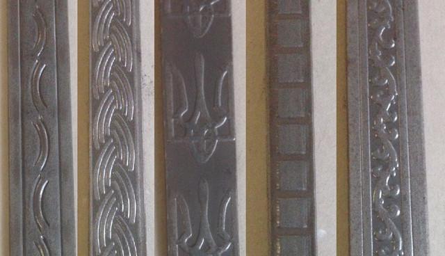 Полоса декоративная кованая