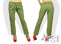 """Стильные женские брюки """"Лампасы"""""""