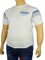 Чоловіча футболка Maxway 9934 B великих розмірів