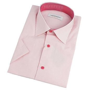 Сорочка чоловіча  Negredo 0310 H Slim в смужку та клітинку