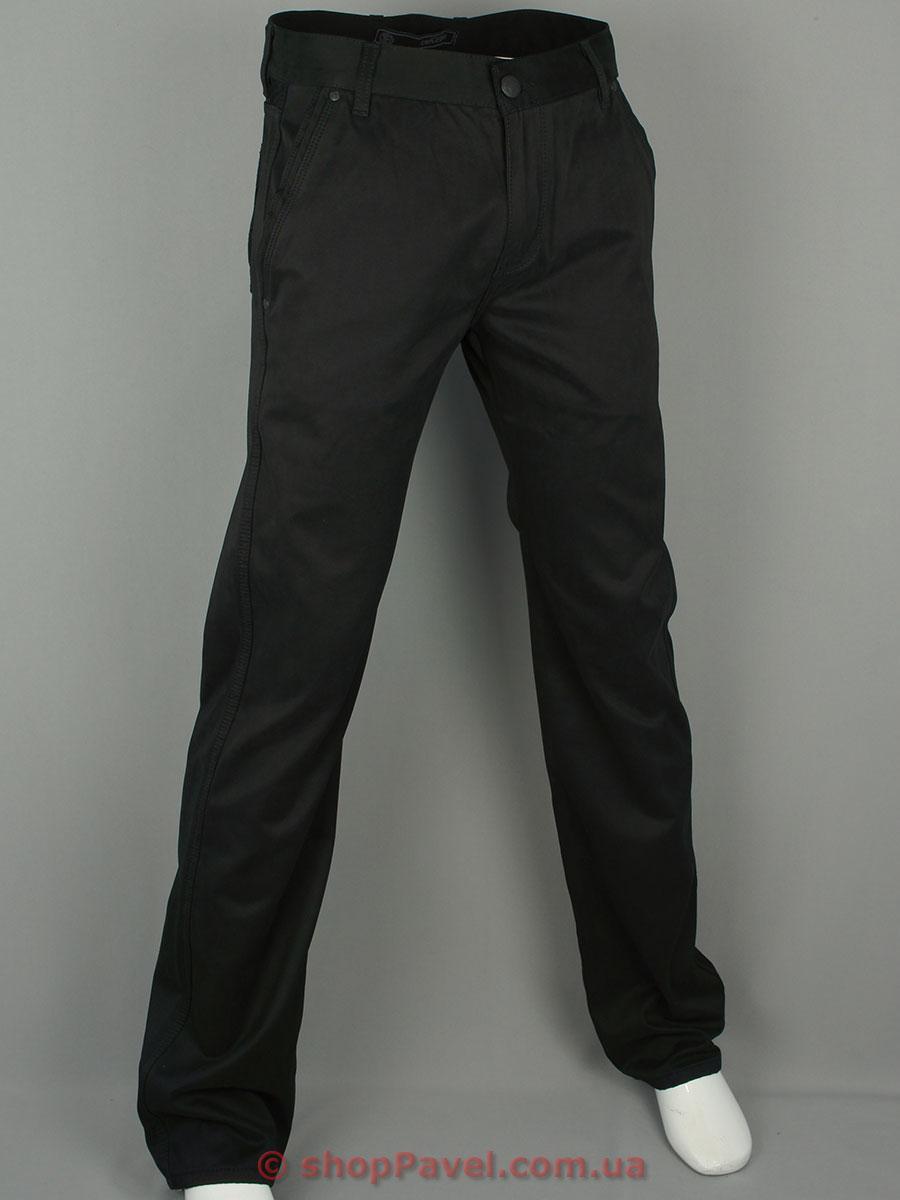 Чоловічі брючні джинси Cen-cor CNC-1090 чорного кольору