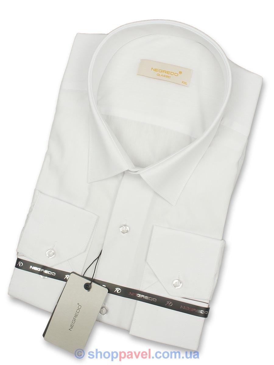 Чоловіча класична  сорочка Negredo White Сlassic