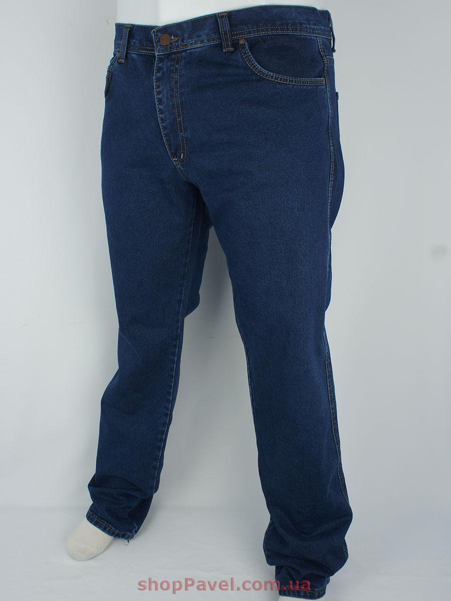 Сині чоловічі джинси в стилі W 149 у великому розмірі