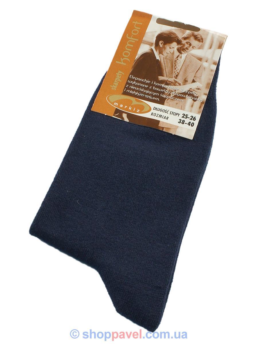 Чоловічі шкарпетки Markiz 018 синього кольору