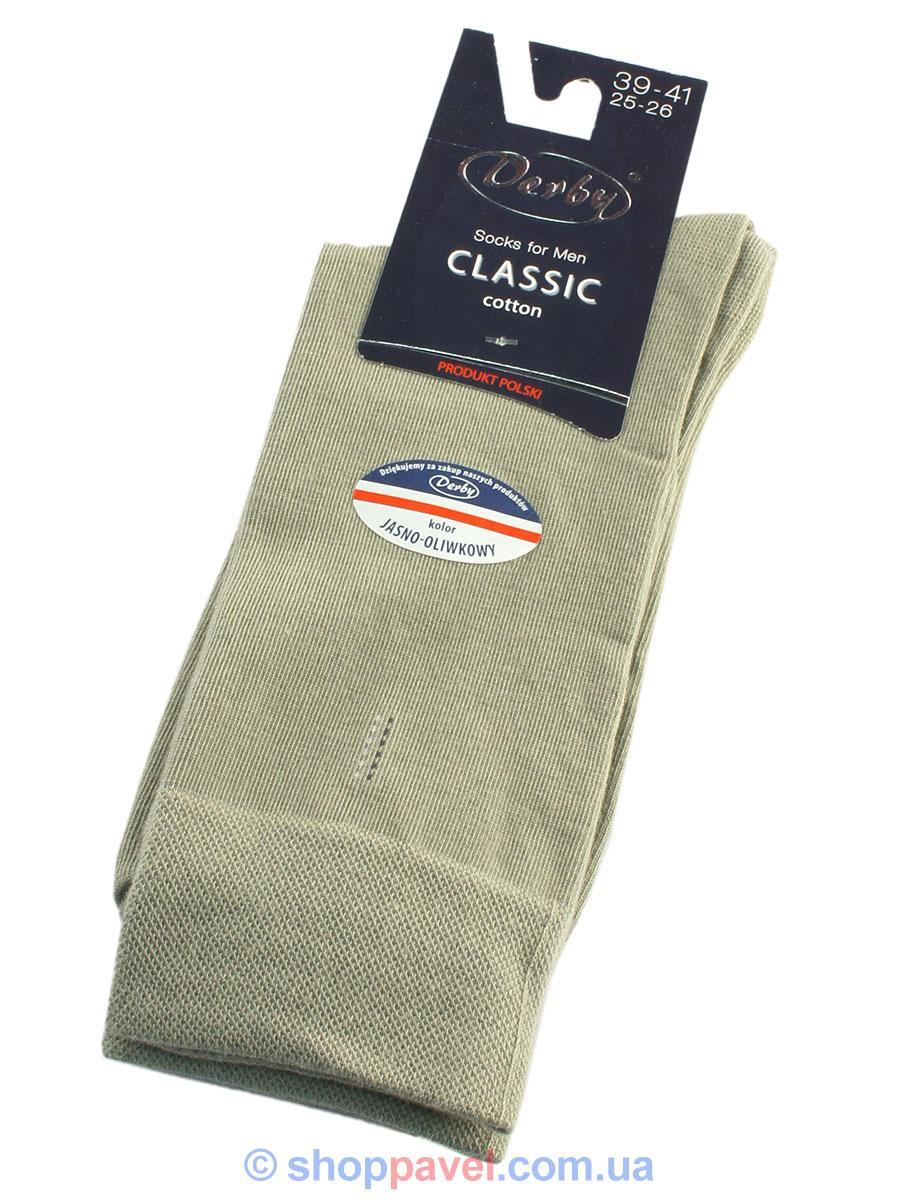 Чоловічі шкарпетки Derby 030 оливкового кольору