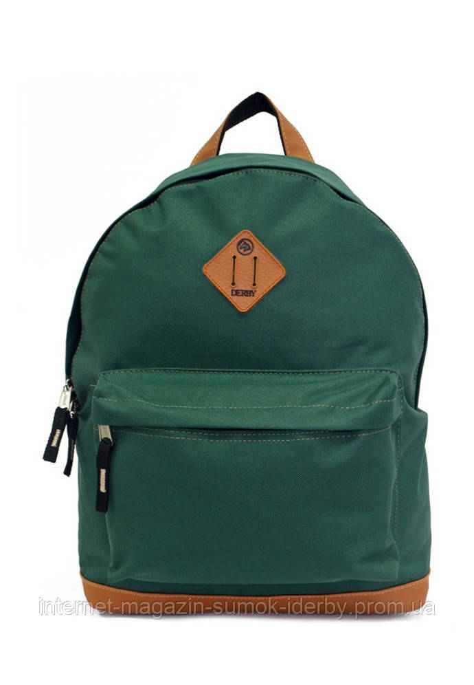 Рюкзак городской DERBY 010560 зеленый