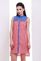 Летнее женское платье Katryn красный FashionUp 42-48  размеры