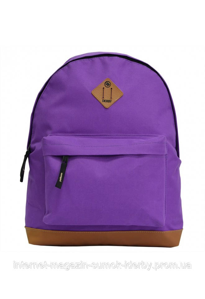 Рюкзак городской DERBY 010560 фиолетовый