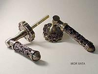 Дверні ручки на розетках модель Z5-73174