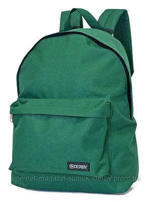 Рюкзак городской   DERBY 0100619 зеленый