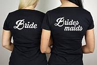 Футболки на девичник для невесты и подружек