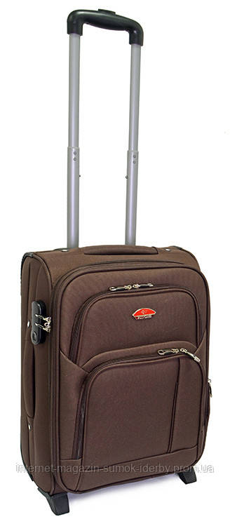 Чемодан Suitcase маленький 11404-20 коричневый
