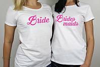 Футболки на девичник для невесты и подружек невесты