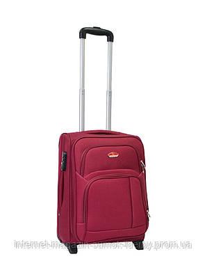 Чемодан Suitcase маленький 11404-20 бордовый