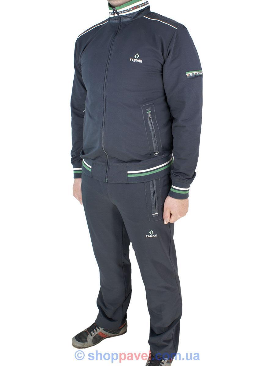 058419a88dadb0 Турецький чоловічий спортивний костюм Fabiani 14KE5E2216 Н Anthra. сірого  кольору
