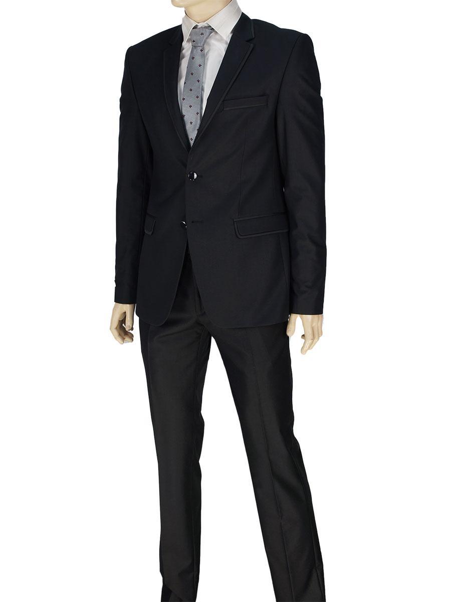 Чоловічий костюм Daniel Perry KD.290 чорного кольору