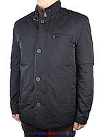 Класична чоловіча демісезонна куртка Santorio SJ 8221 Lacivert