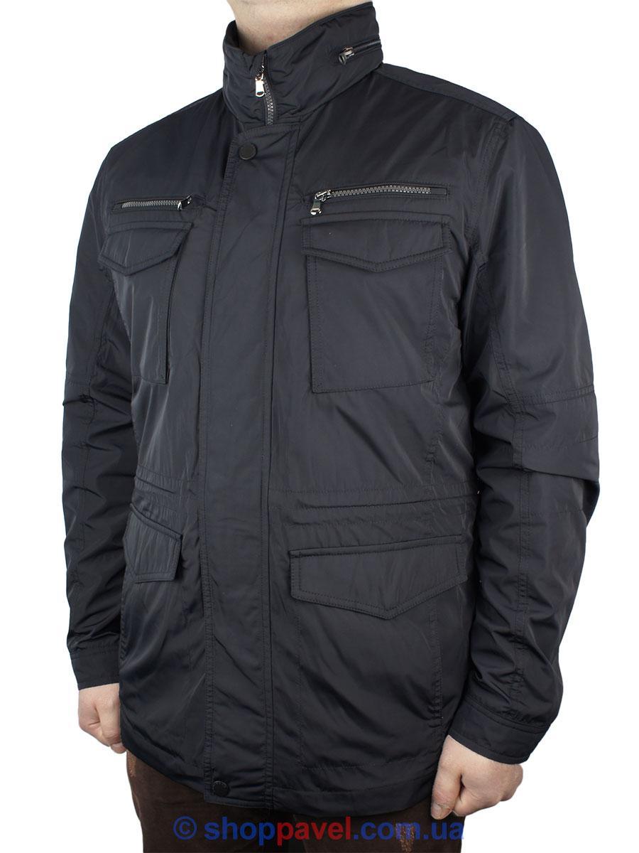 Чоловіча куртка Santorio SM 8101 в темно-синьому кольорі